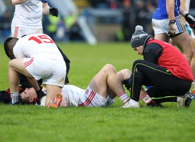 Connor McAliskey of Tyrone is set to miss the entire season.