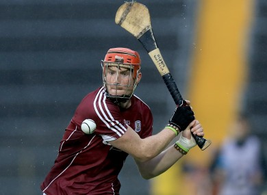 Conor Whelan scored one of Galway's four goals (file photo).