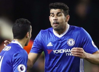 Diego Costa is understood to be unsettled at Chelsea.