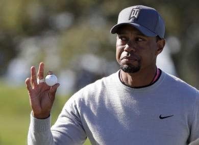 Tiger: focus turns to the Dubai Desert Classic.