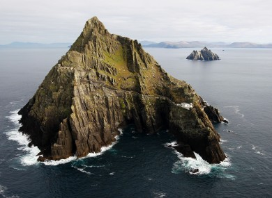 Skellig Michael, Co Kerry, where part of Star Wars: The Force Awakens