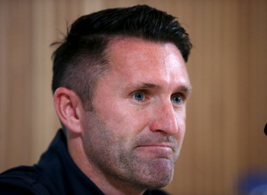Keane: 36-year-old weighing up one last move.