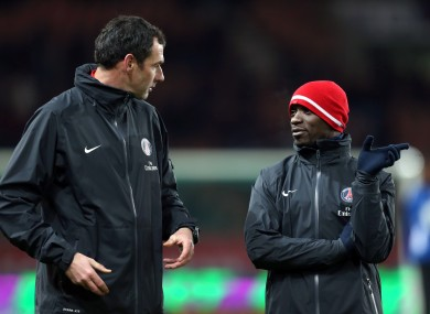 Paul Clement (left) has worked with Claude Makelele at Paris Saint-Germain and at Chelsea.
