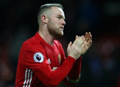 Wayne Rooney has struggled to make Man United's first XI of late.