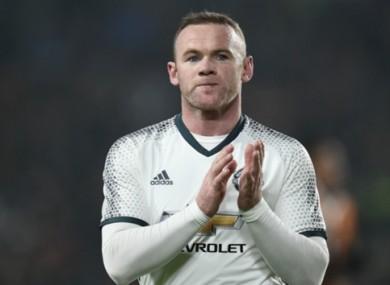 Wayne Rooney (file pic).