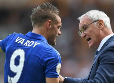 Vardy on Ranieri: