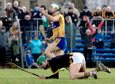 Aron Shangaher lead the way for Clare.