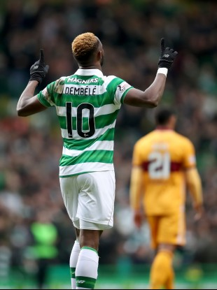 Dembele was once against the hero for the Hoops.