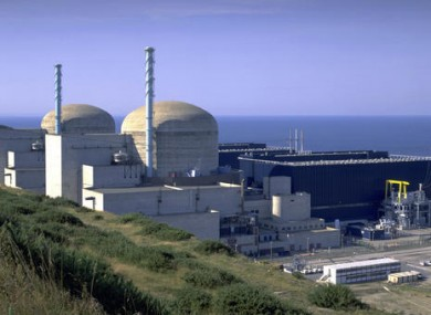 Flamanville nuclear plant