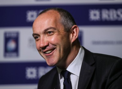 O'Shea is preparing for his first Six Nations campaign in charge.