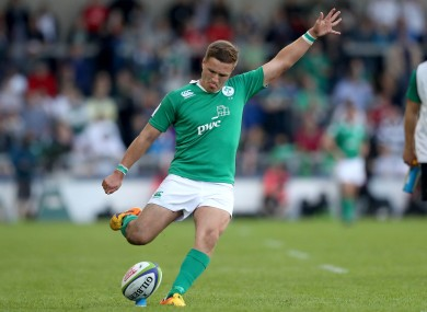 Johnny McPhillips is one of just two returning caps in the starting XV.