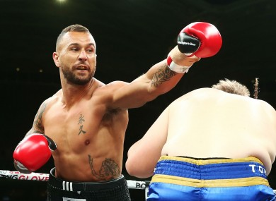 Quade Cooper takes charge in the ring