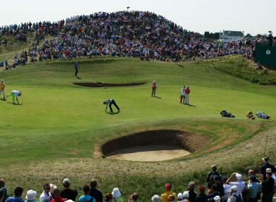 Royal St George's Golf Club during the 2011 Open Championship