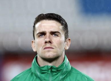 Robbie Brady has scored seven goals in 31 caps for Ireland.