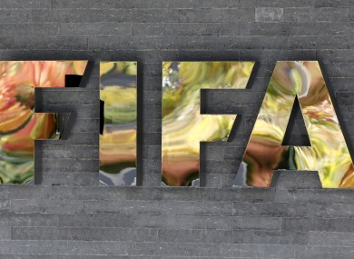 The FIFA logo (file pic).