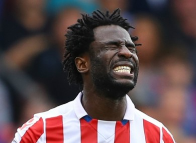 Wilfried Bony has had a frustrating spell at Stoke.