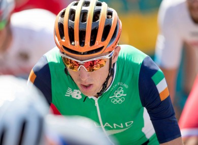 A file picture of Dan Martin in action at the Rio Olympics.