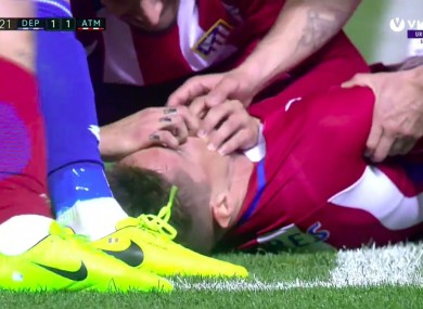 There was widespread concern for Fernando Torres after he suffered a head injury against Deportivo.