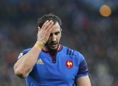 France lock Yoann Maestri.