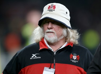 Laurie Fisher has stepped down from his role as head coach of Gloucester.