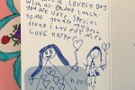 People are loving Harper Beckham's adorable Mother's Day card she made for Victoria