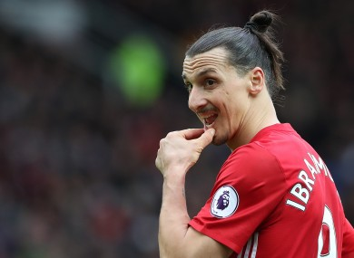 Zlatan Ibrahimovic has been in superb form for Man United.