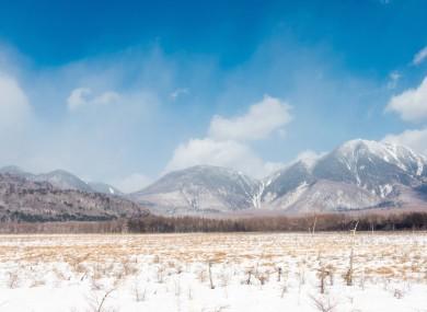 File image - Mountains in Tochigi, Japan.