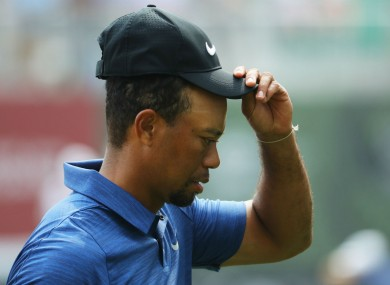 Tiger Woods: plagued with injury problems.