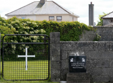 The true history of the site in Tuam has been revealed by local woman Catherine Corless.
