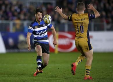 Bath's Adam Hastings in action against Bristol.