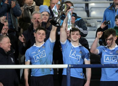 Dublin co-captains Con O'Callaghan and Cillian O'Shea.
