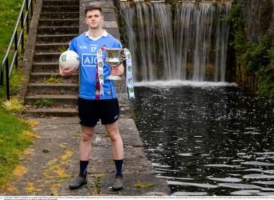 Dublin U21 football captain Cillian O'Shea.