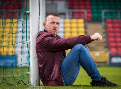 Gary McCabe has scored seven goals in eight games for Bray this season.