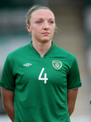 Louise Quinn has won 47 caps for Ireland.