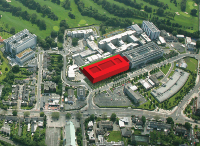 The new building will be located at St Vincent's Hospital in south Dublin.