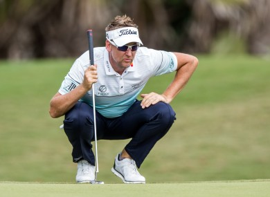 Poulter's season was disrupted by injury.