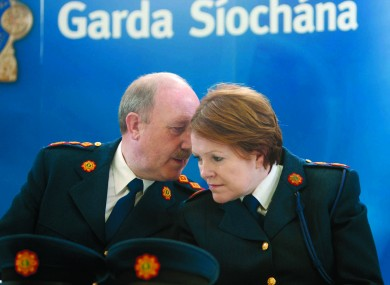 Martin Callinan was garda commissioner when the recordings came to light and current Commissioner Noirín O'Sullivan was one of his deputies.