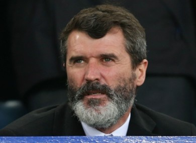 Roy Keane (file pic).