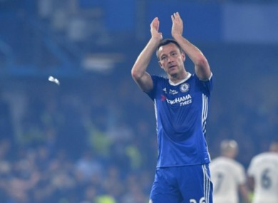 John Terry is set to end his long association with Chelsea FC.