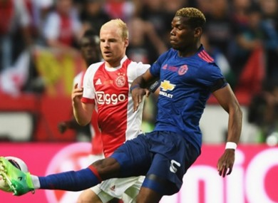 Klaassen admits Ajax played poorly.