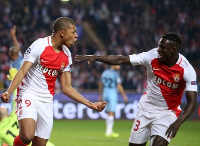 Kylian Mbappé (left) has been phenomenal this season.
