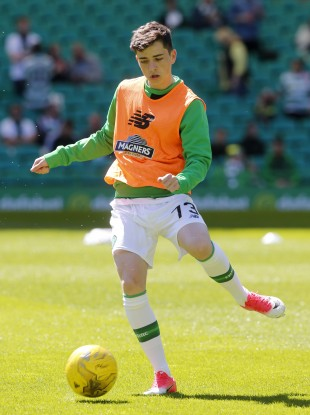 Michael Johnston made his Celtic debut on Saturday.