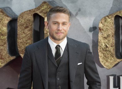 Charlie Hunnam, who stars as King Arthur in the new film King Arthur: Legend of the Sword.