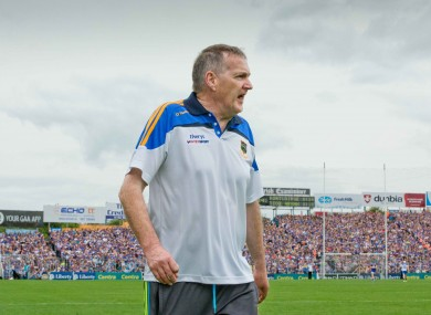 Former Tipperary hurling manager Eamon O'Shea.