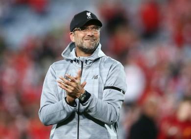 'Aura': Liverpool manager Jurgen Klopp.