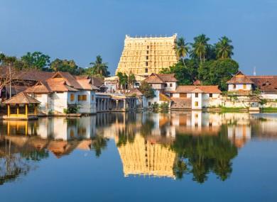 Thiruvananthapuram is the state capital of Kerala, India.