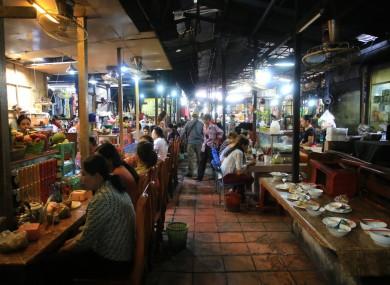 File photo. Phnom Penh, Cambodia.