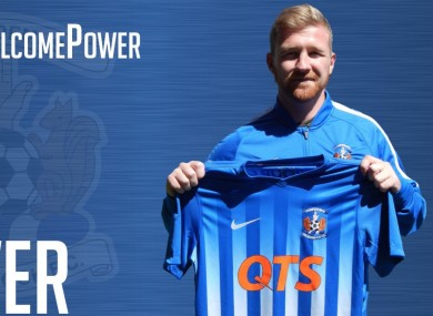Power with the Killie shirt.