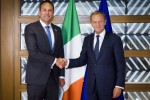 Donald Tusk welcomes Ireland's 'young, energetic' new Taoiseach to Brussels