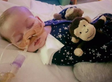Ten-month-old Charlie Gard.